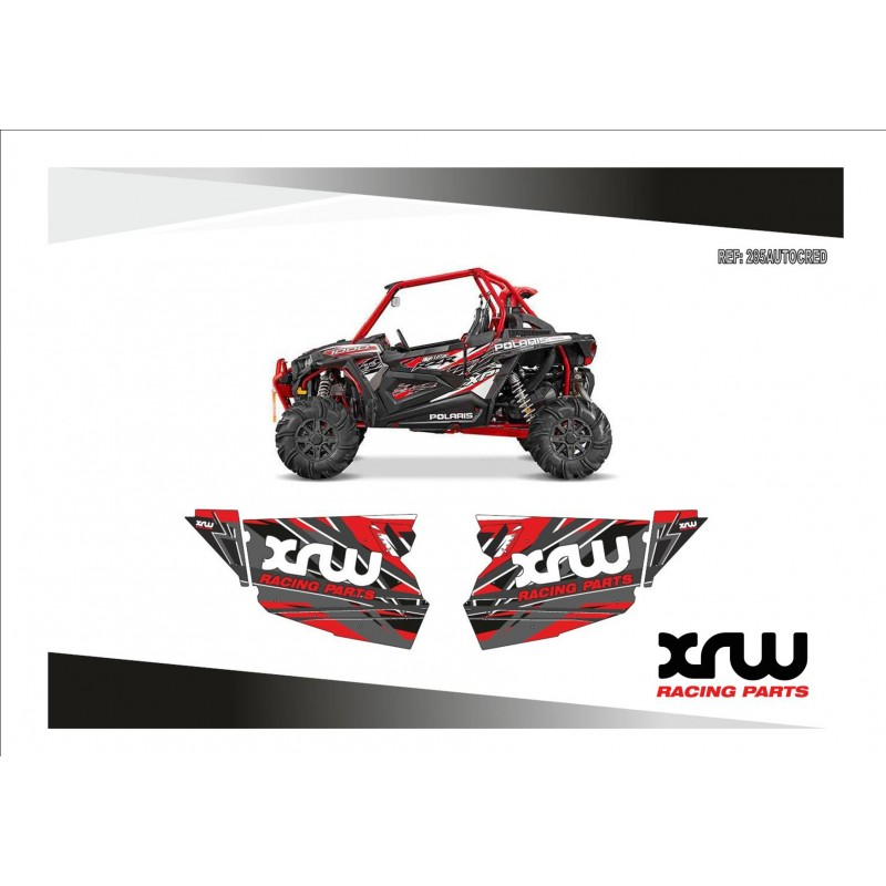 XRW Door Panel Graphics