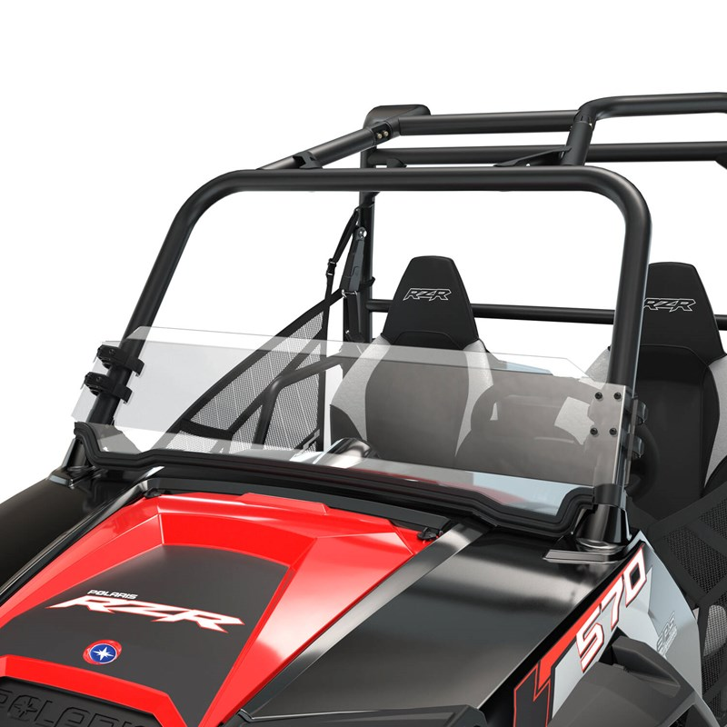 Polaris Half Windshield Poly
