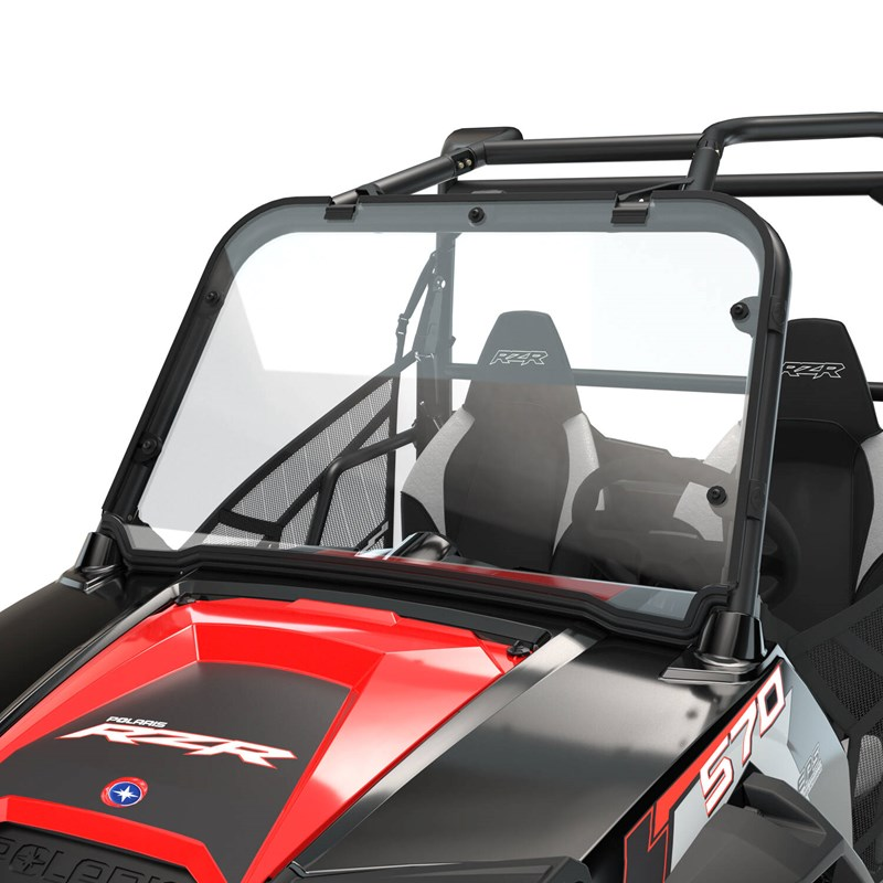 Polaris Full Windshield Poly